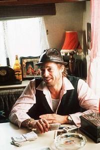 Brad Pitt as Mickey