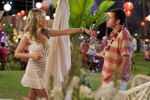 Aniston and Sandler