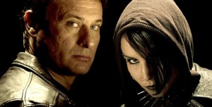 Mikael Blomkvist and Lisbeth Salander