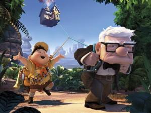 Russell and Mr. Fredricksen