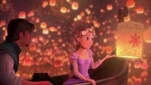 Lantern Scene in Tangled