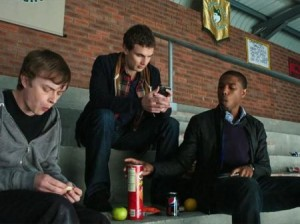 Dane DeHaan, Alex Russell and Michael B. Jordan in Chronicle
