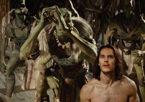 Tas Tarkas (Willem Dafoe) and John Carter (Taylor Kitsch)