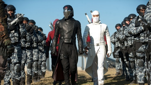 Cobra and Storm Shadow in G.I. Joe: Retaliation