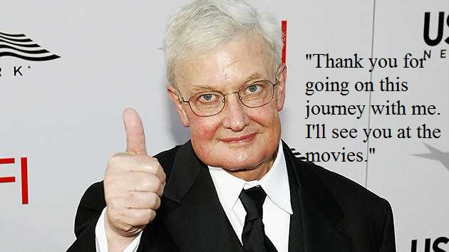 Thumbs Up from Roger Ebert